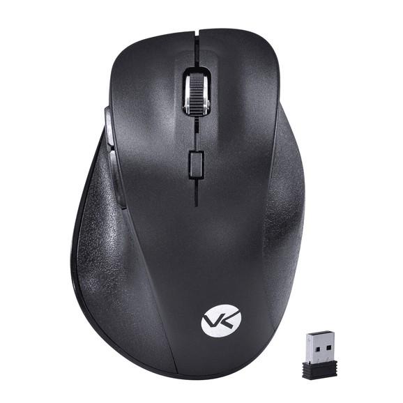 Mouse Sem Fio Vinik Wireless 2.4 Ghz  Silent Ergo 1600 DPI Preto  - SM300