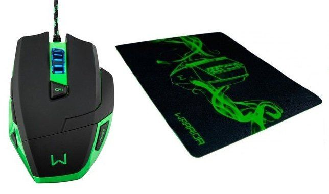 Mouse Warrior Gamer 3200dpi - MO245