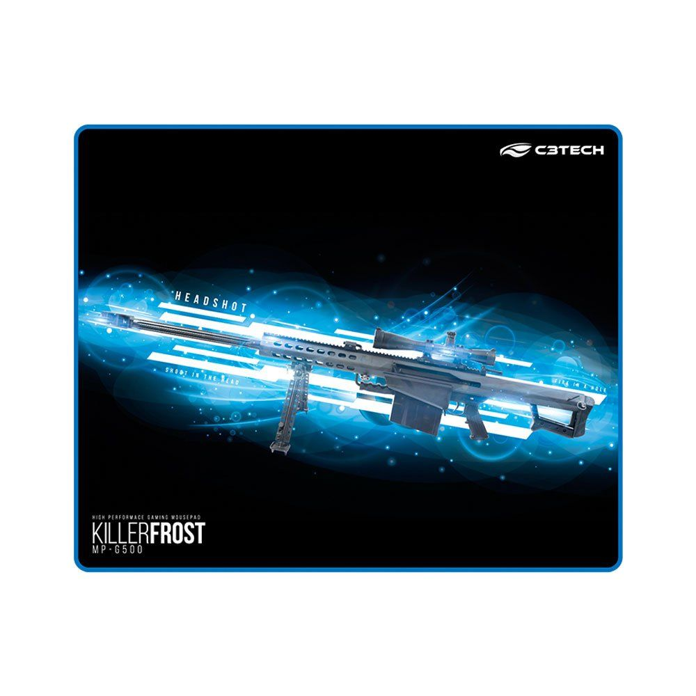 Mousepad Gamer C3Tech MP-G500 KILLER FROST