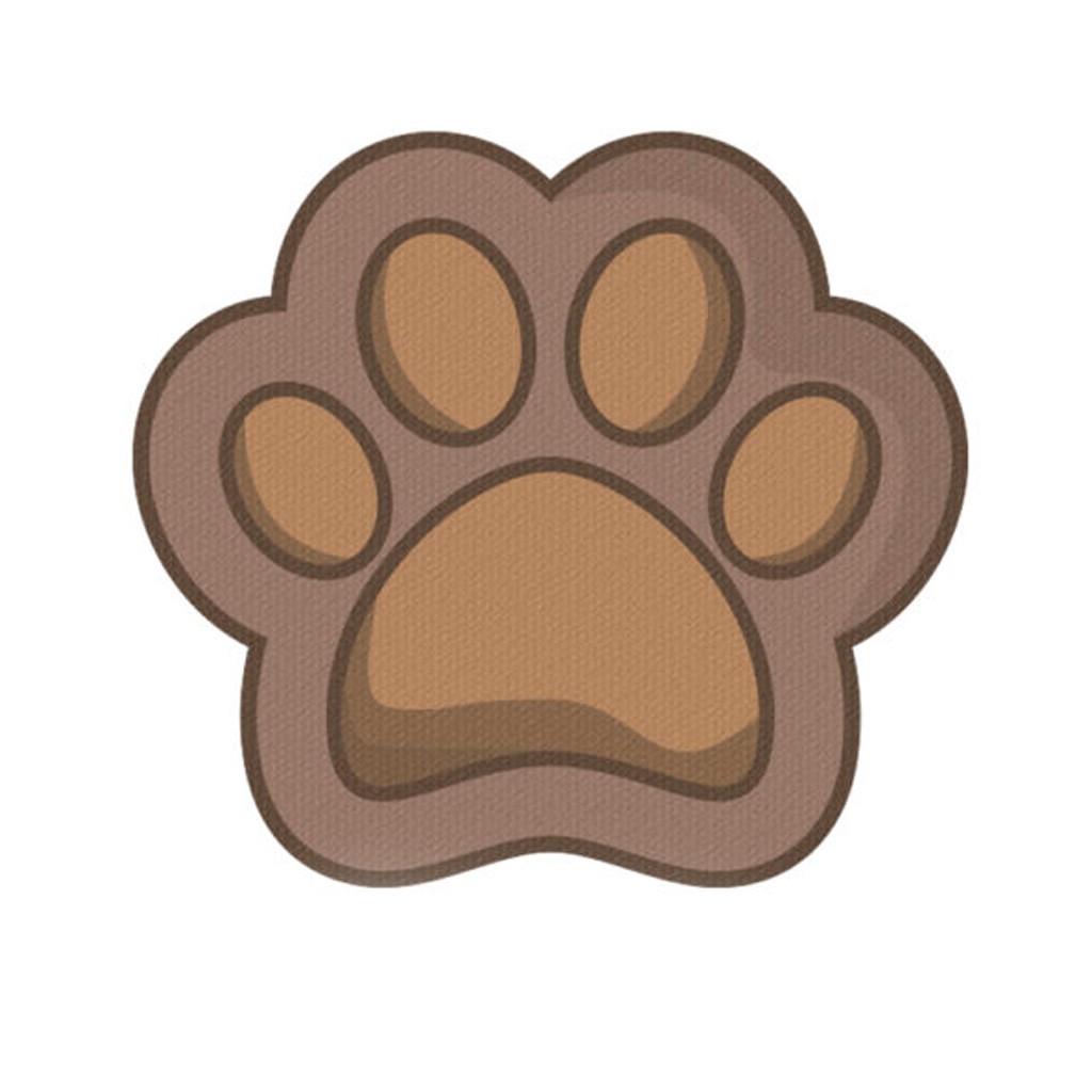 Mousepad / Imã Decorativo ColorFun - Dog Paw