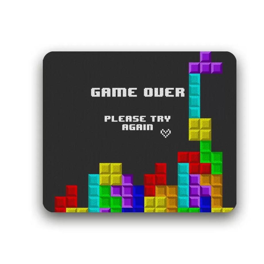 Mousepad Retangular Classic NeoBasic Reliza - Tetris