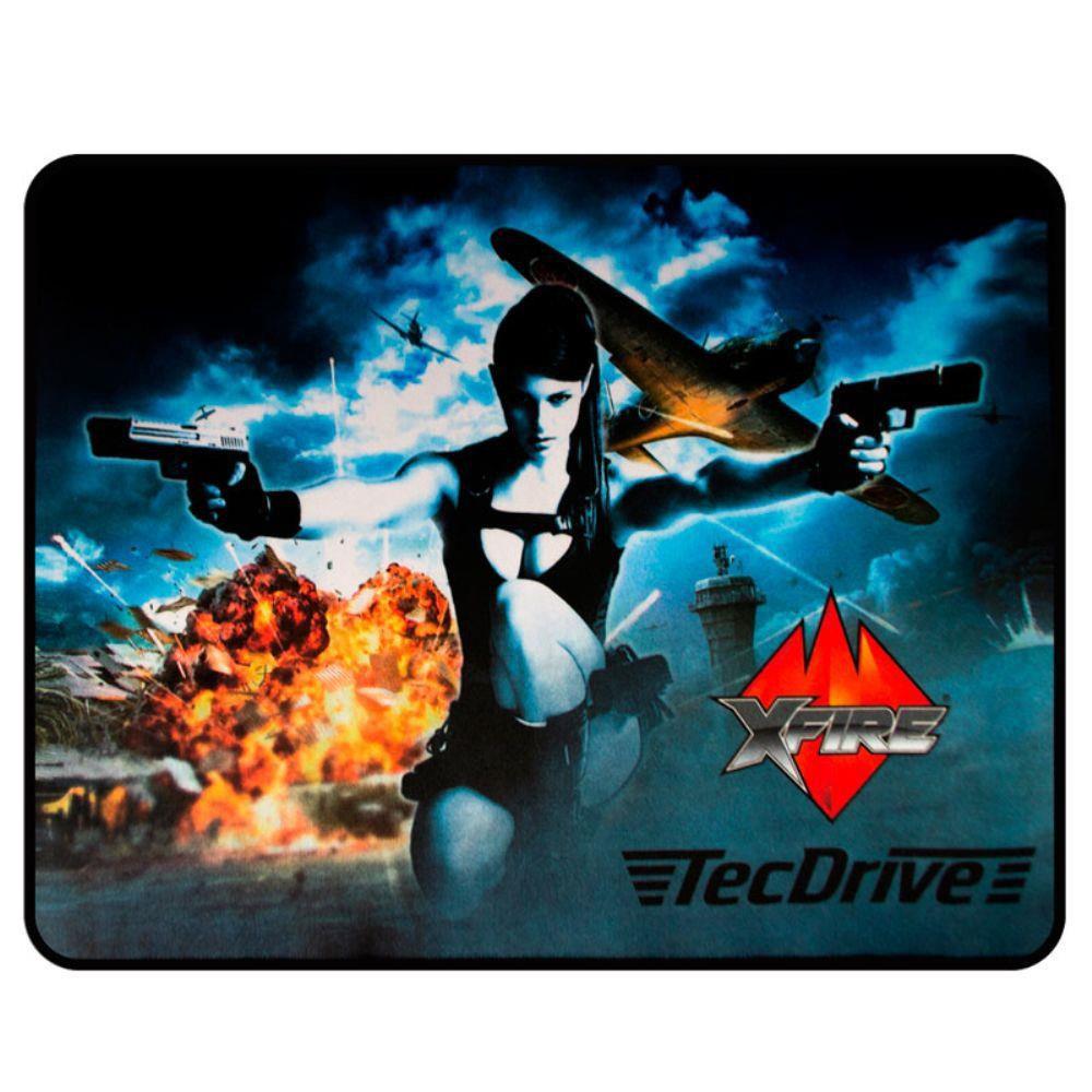 Mousepad TecDrive XFire A vingadora - Versão Speed