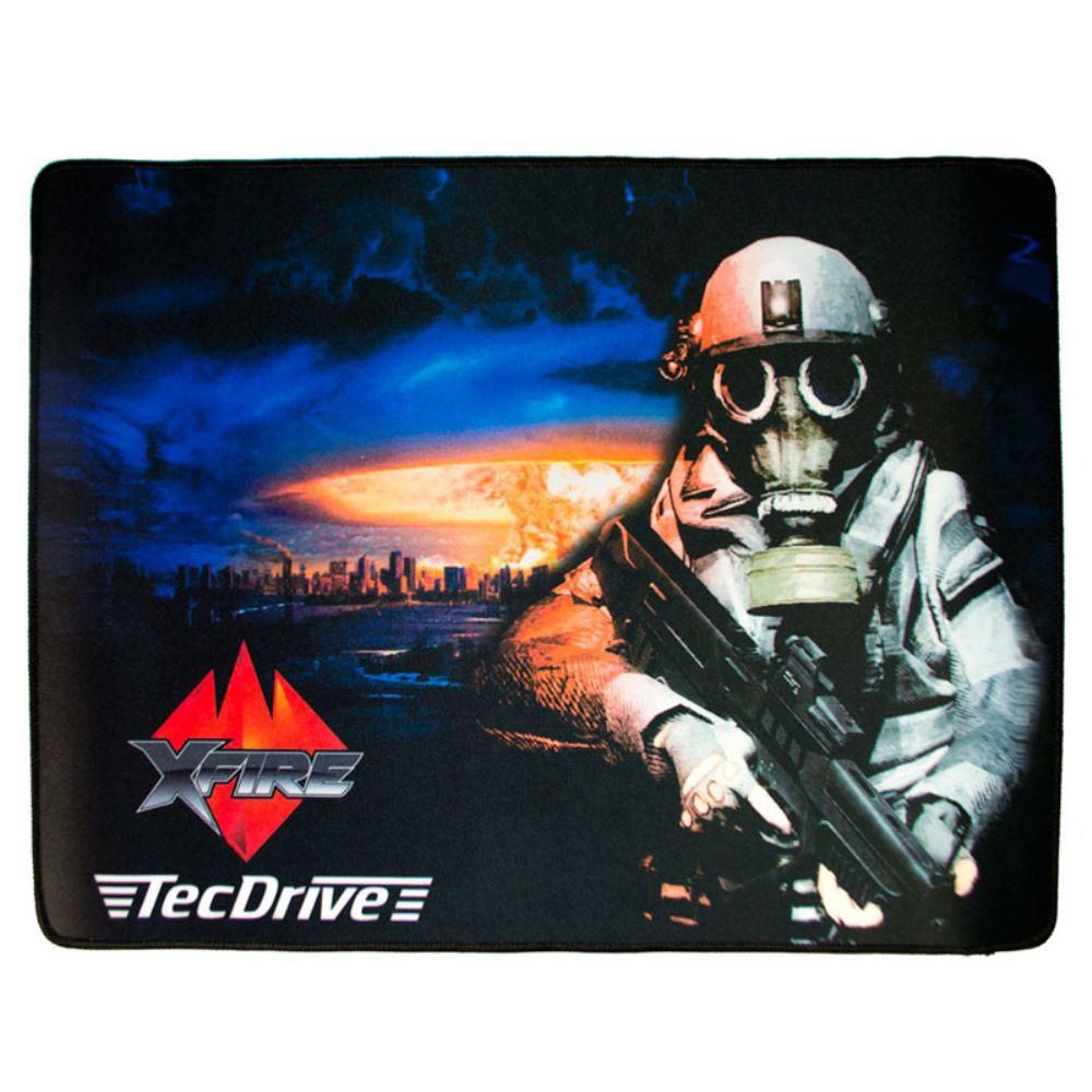 Mousepad TecDrive XFire Nuclear Strike City - Versão Speed