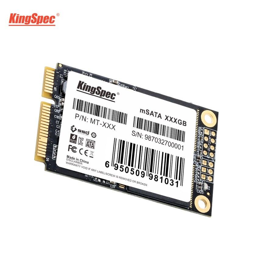 mSATA SSD KIingspec 256GB P/ Notebook / Ultrabook