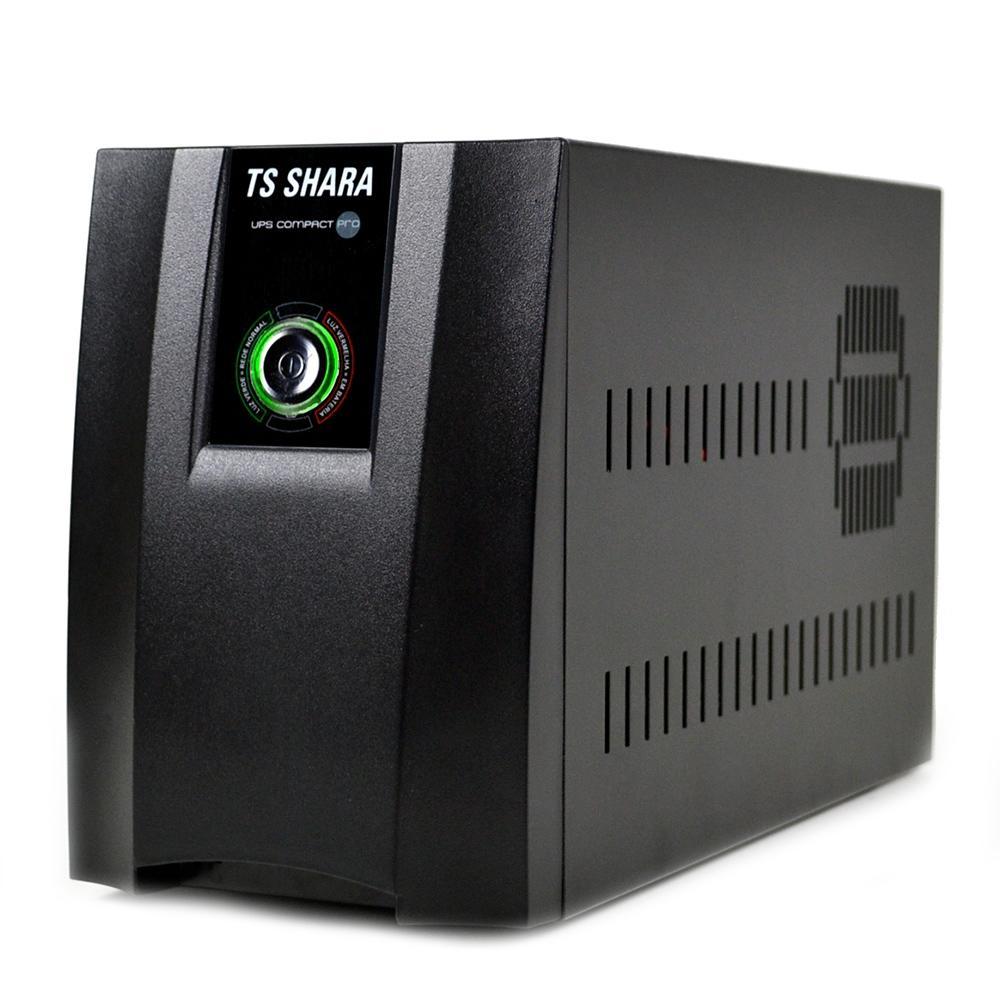 Nobreak TS Shara UPS Compact Pro 1400VA, 6 Tomadas, Bivolt - 4430