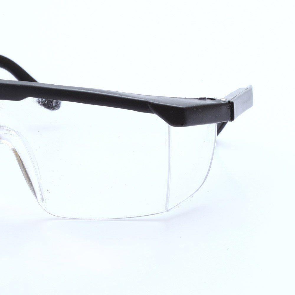 Óculos de proteção P/ Motoqueiro Transparente S/ Grau Western
