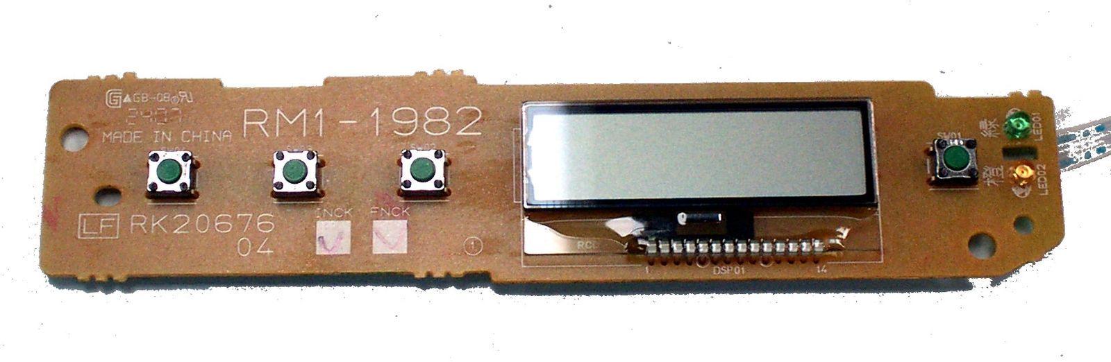 Painel de Controle HP Color LaserJet 2600 RM1-1982