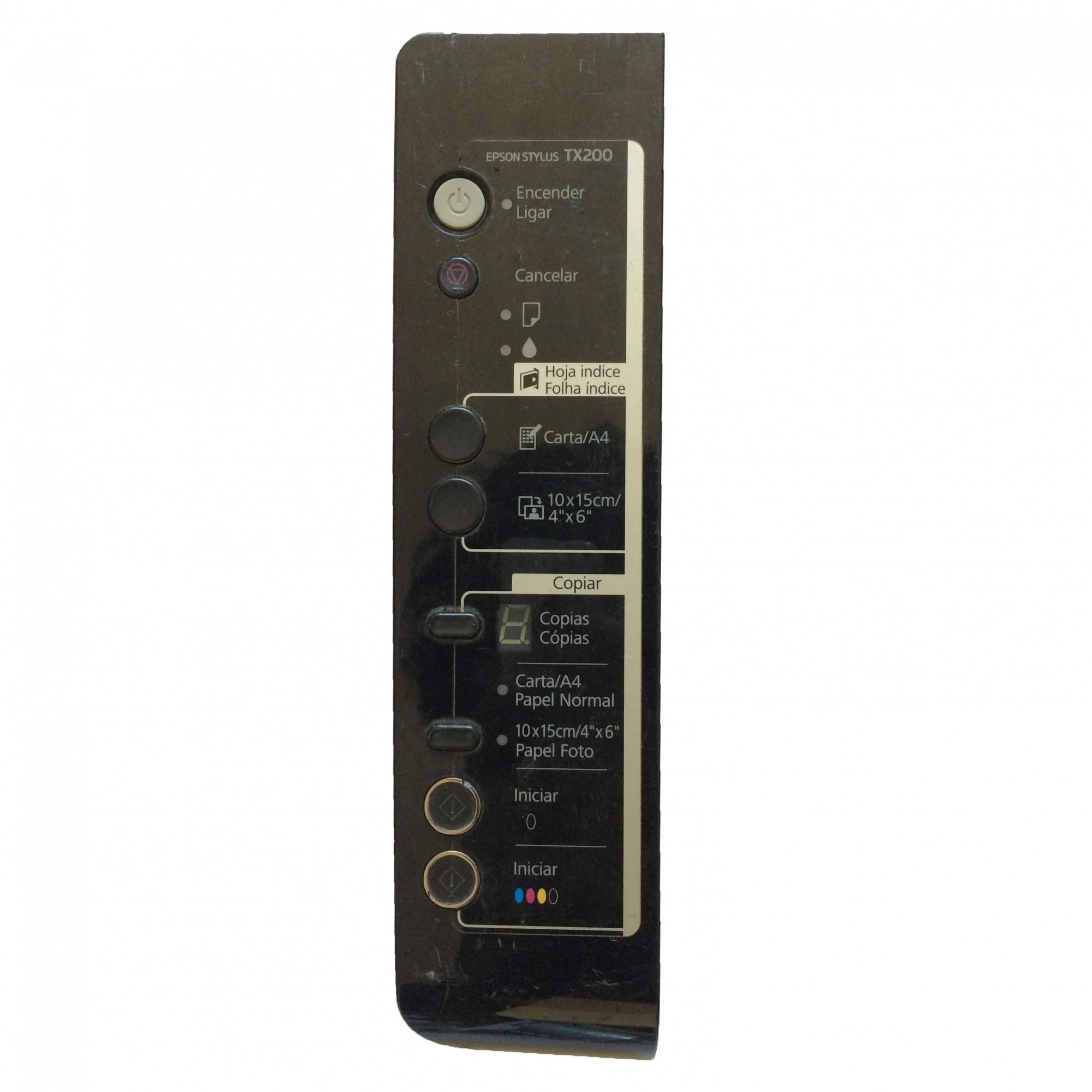 Painel Frontal Completo + Placa Multifuncional Epson Stylus TX200 - Retirado