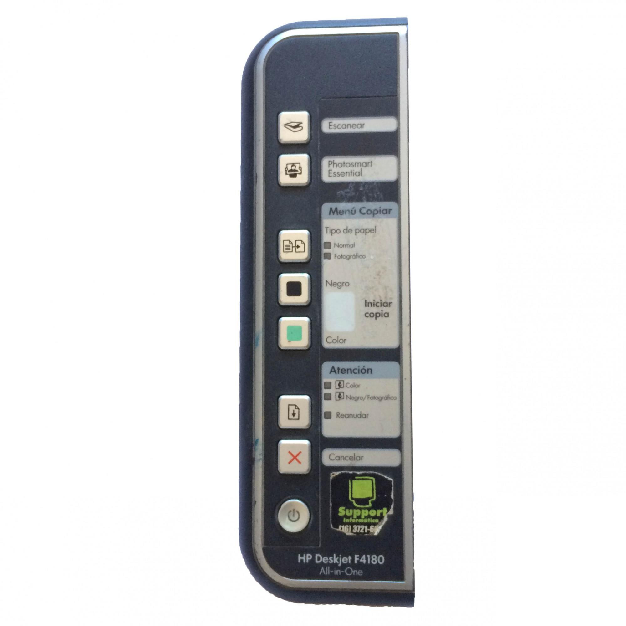 Painel Frontal Completo + Placa Multifuncional HP Deskjet F4180 All-in-One - Retirado