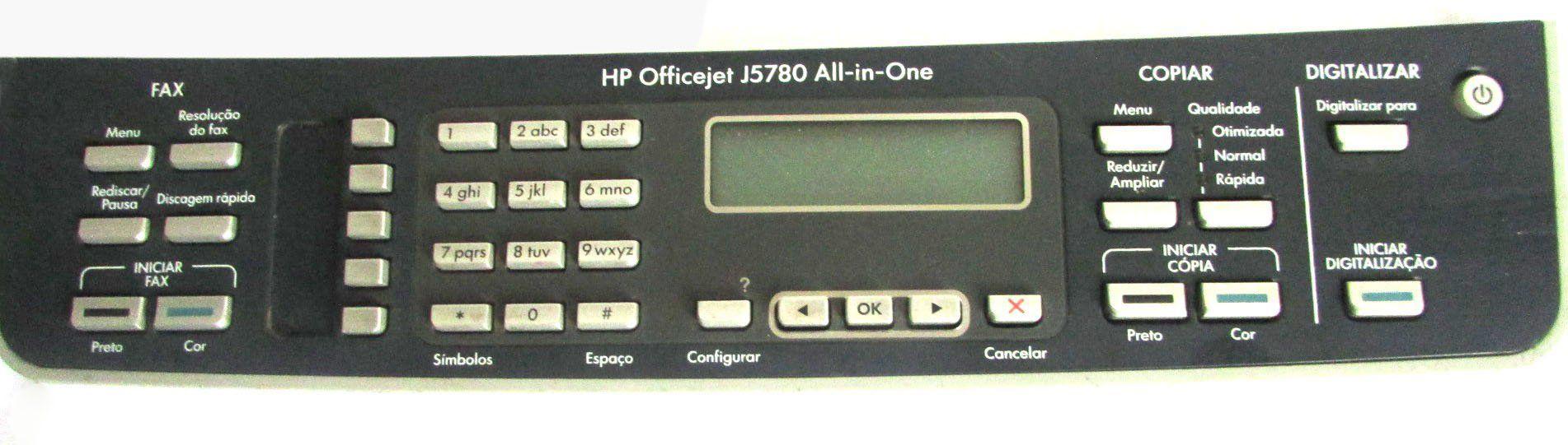Painel Hp Officejet J5780 (semi novo)