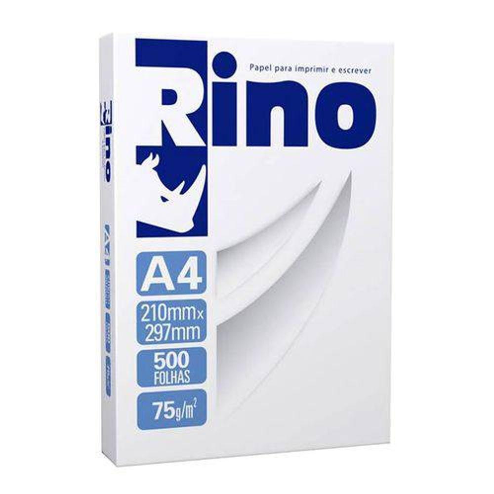Papel Sulfite A4 210X297MM C/ 500 Folhas Brancas Rino