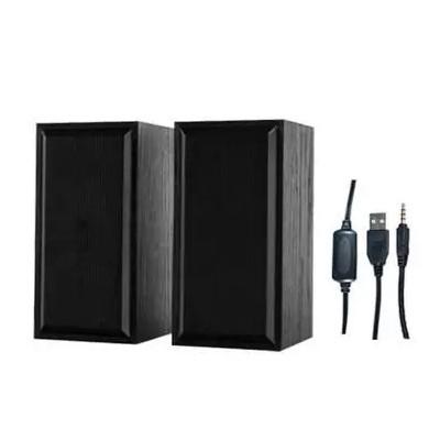 Par Caixas de Som X-CELL P/ Computador e Notebook 10W RMS USB P2 Preto XC-CM-15