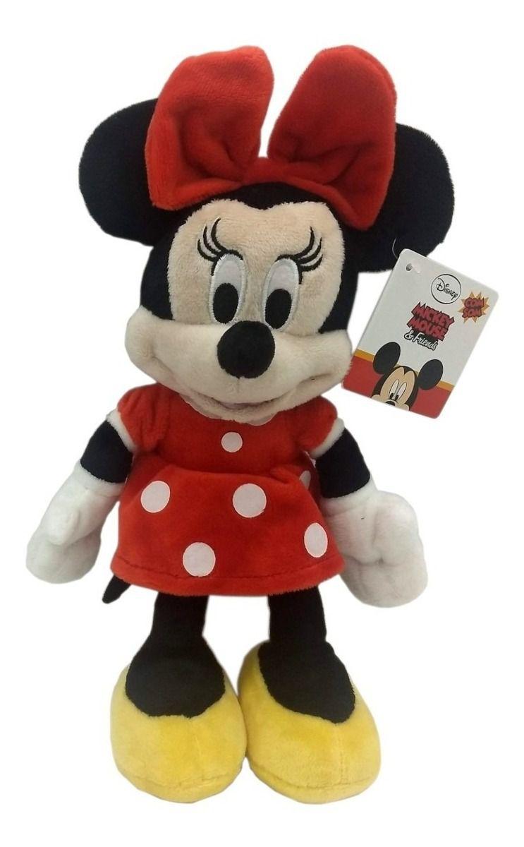 Pelucia Minnie C/ Som 26cm Disney Multikids BR868