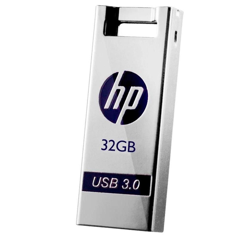 Pen Drive 32GB HP USB 3.0 HPFD795W-32 Prata Metal Chaveiro - X795W