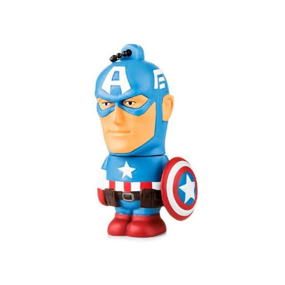 Pendrive Marvel Vingadores Capitão América 8GB Multilaser PD080