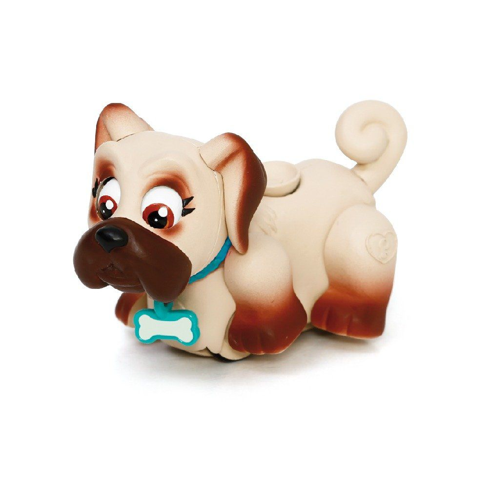 Mini Figura - Pet Parade - Cachorrinho Bege Marron - Multikids BR727