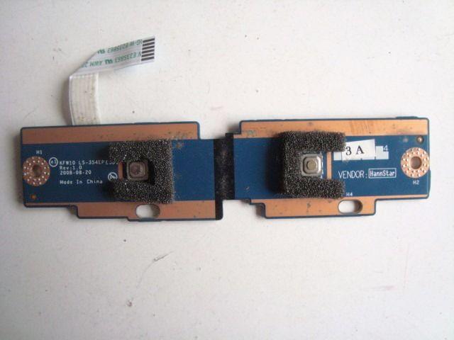 Placa Botões Touchpad P/ Notebook Intelbras I30 LS-354EP