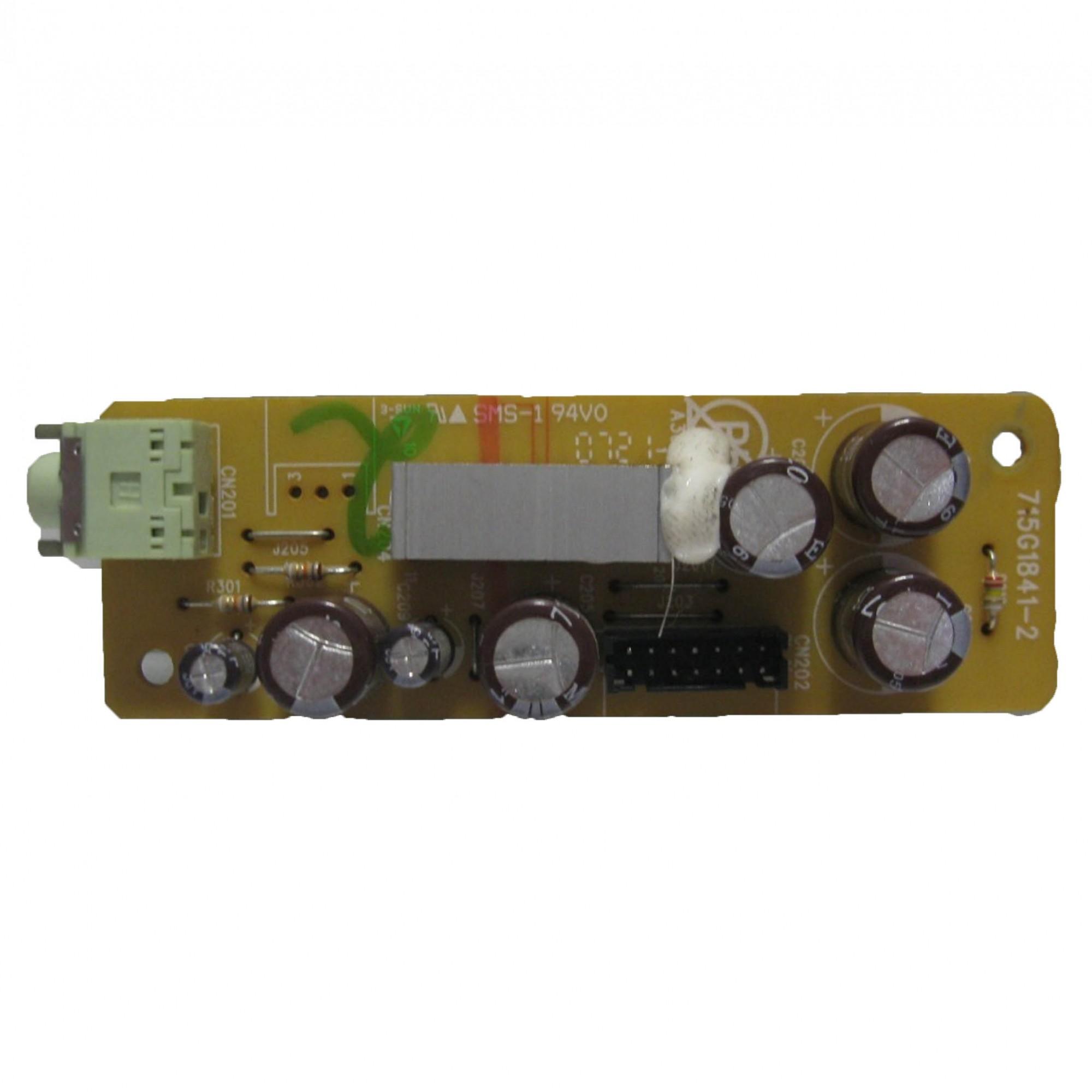 Placa de Áudio Monitor Aoc / LG Login 712sa-l PN:715g1841-2 - Retirado