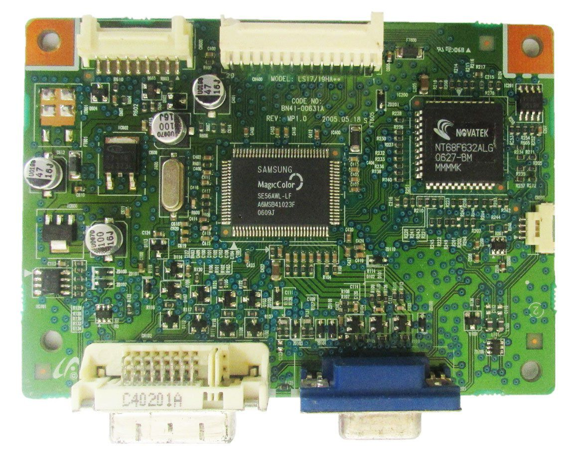 Placa De Sinal Monitor Samsung 740n (semi novo)