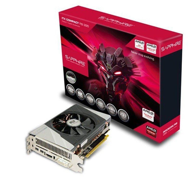 Placa De Vídeo Amd Radeon R9 285 2gb 256bits Ddr5 Sapphire 11235-06-20G