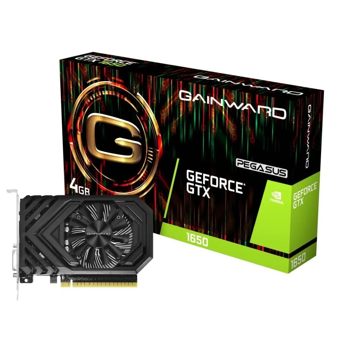 Placa De Video Gtx 1650 4gb Gainward Pegasus G5 Nvidia - NE51650006G1-1170F