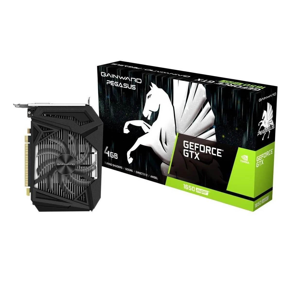 Placa De Video Gtx 1650 4gb Gainward Super Pegasus Nvidia - NE6165S018G1-166F