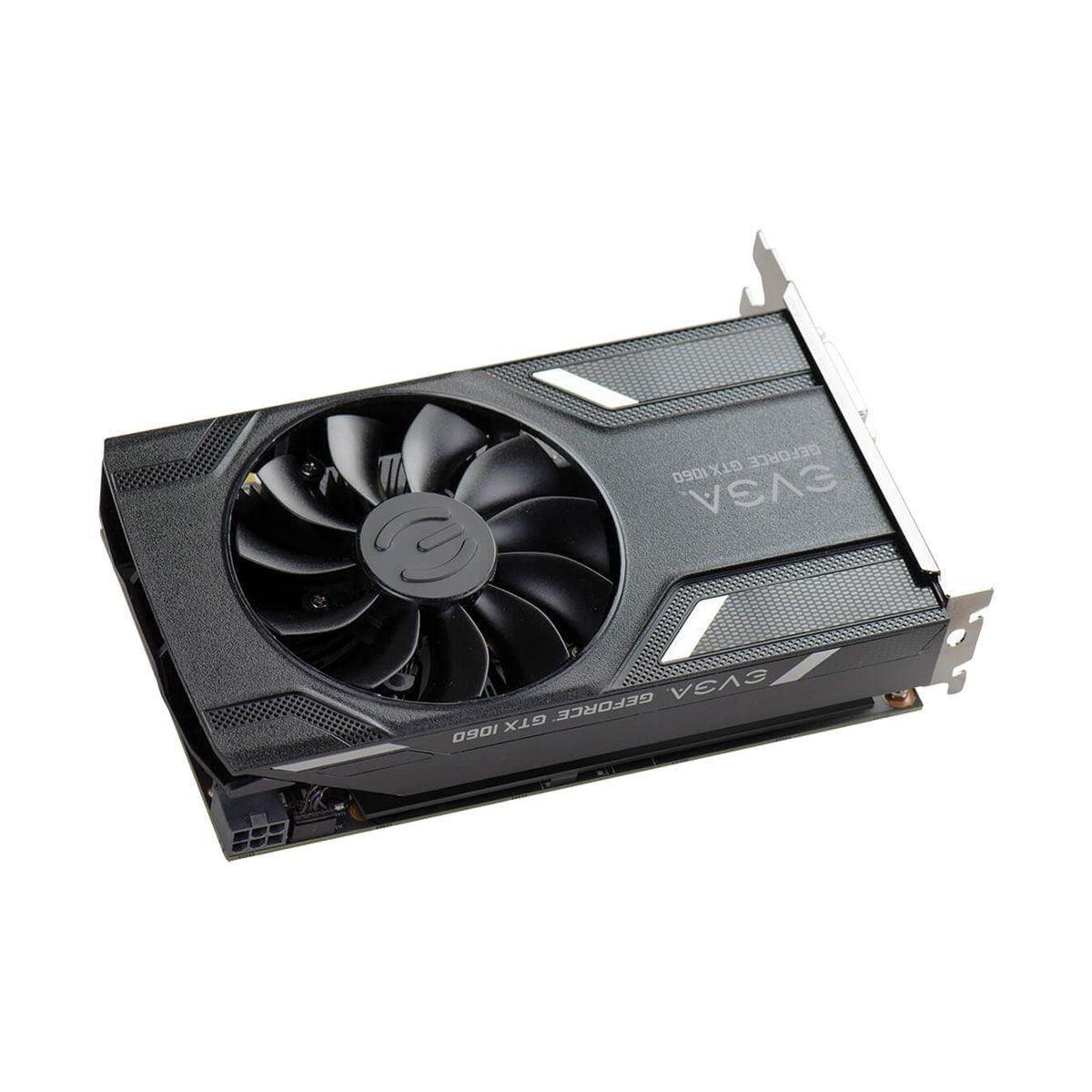 Placa de Video Nvidia Geforce GTX 1060 Gaming 3GB GDDR5 192 BITS (single fan) 03G-P4-6160-KR - EVGA