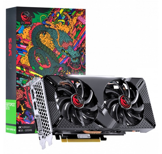 Placa de Video PCYES GTX 1660 OC Graffiti 6GB - PPOC166019206G5