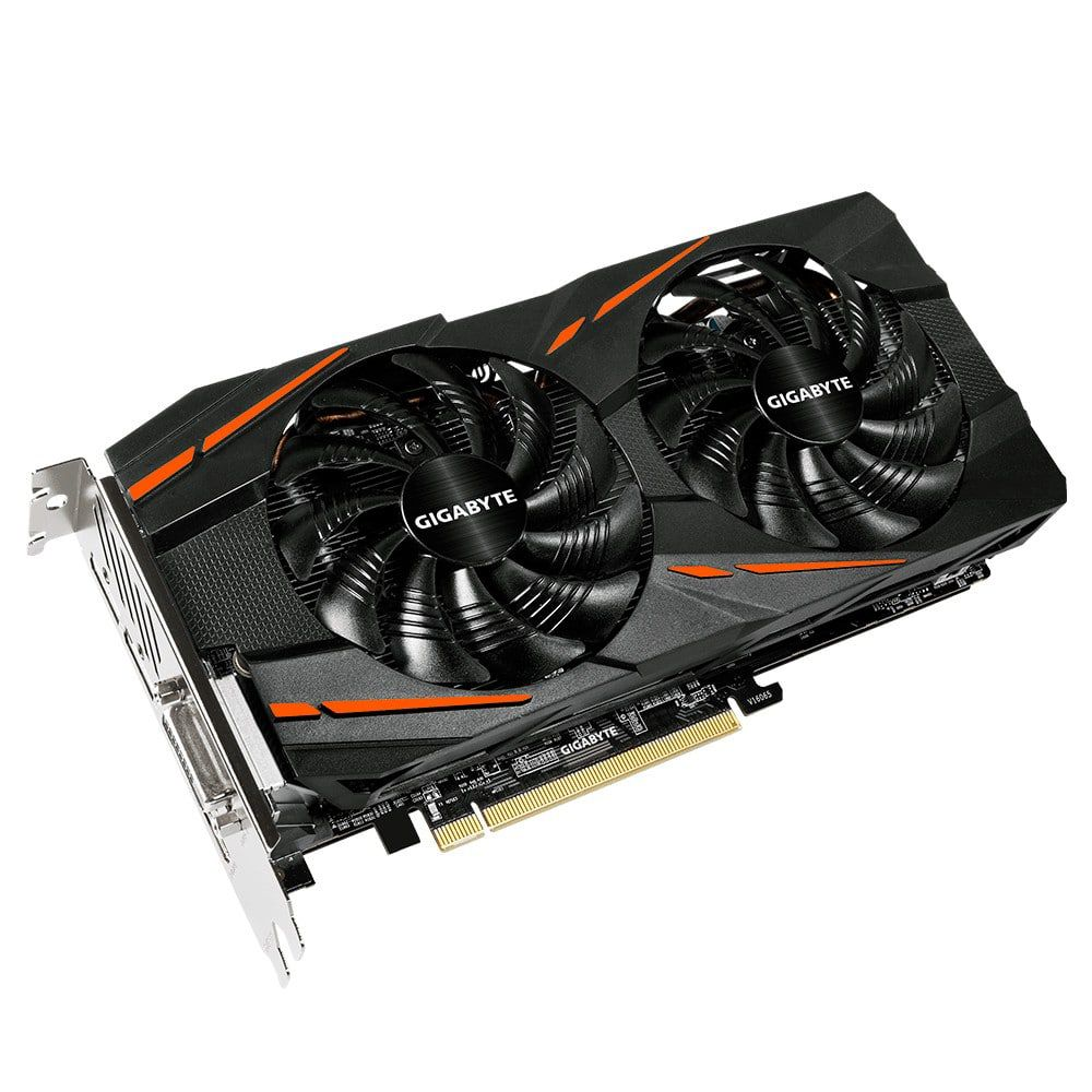 Placa de Vídeo VGA AMD GIGABYTE RADEON RX 580 4GB GAMING OC GDDR5 GV-RX580GAMING-4GD