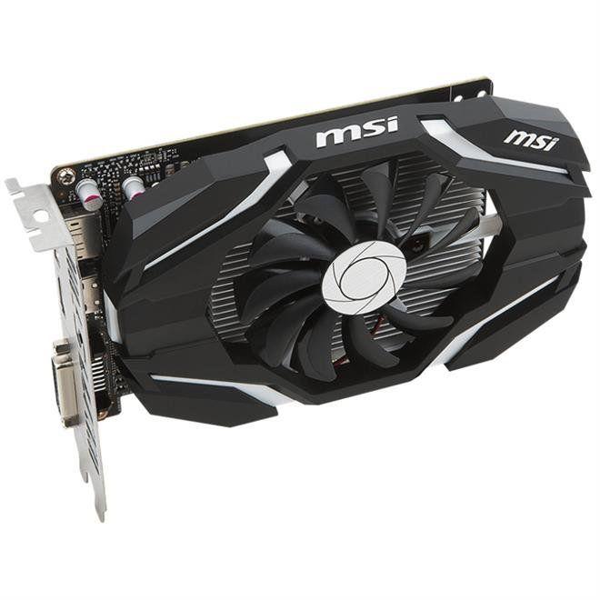 Placa De Vídeo Vga Nvidia Msi Geforce Gtx 1050 2Gb Oc Gddr5 128Bits 912-V809-2287