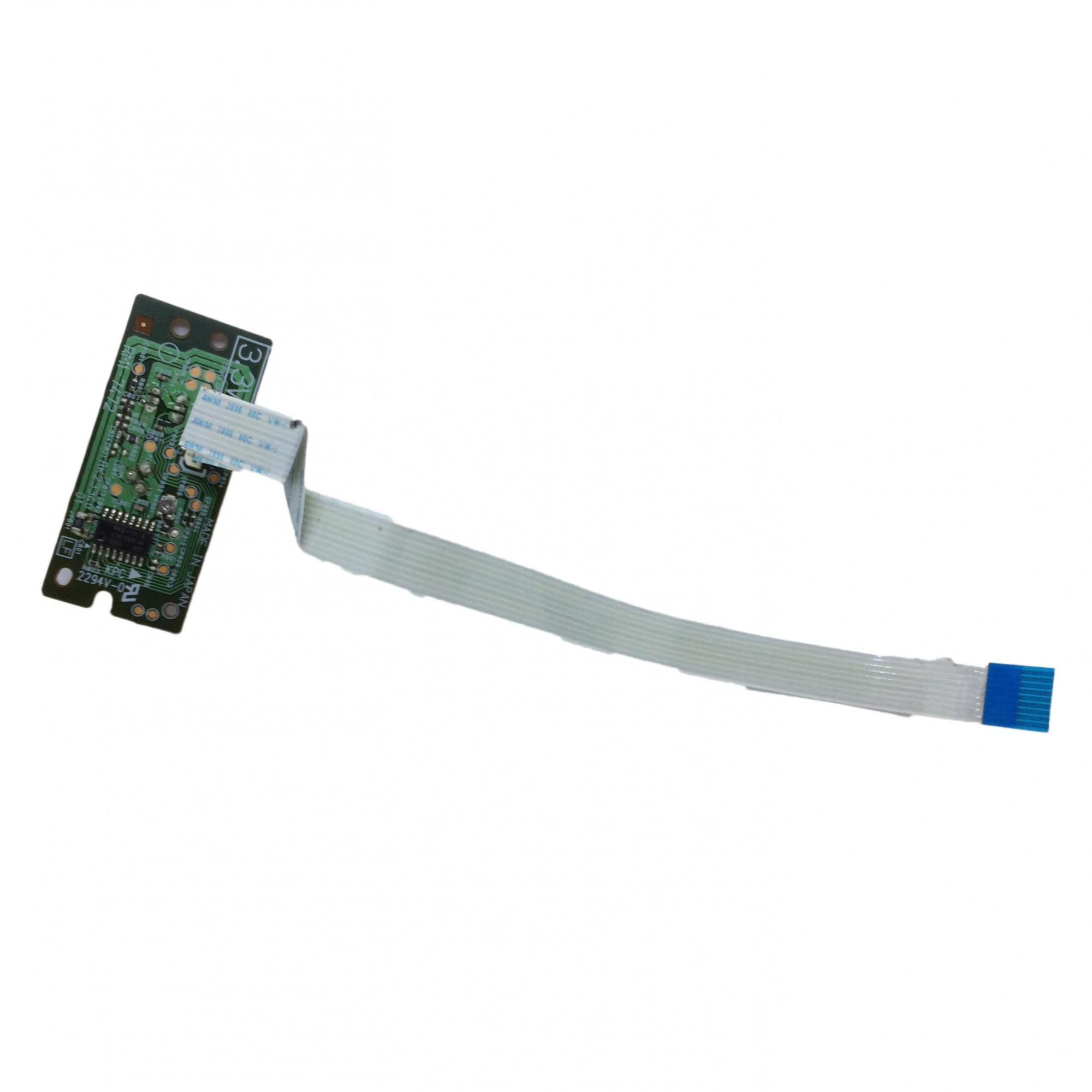 Placa Laser + Cabo Flat e sensor Multifuncional HP M1212 PN:rk23340 - Retirado