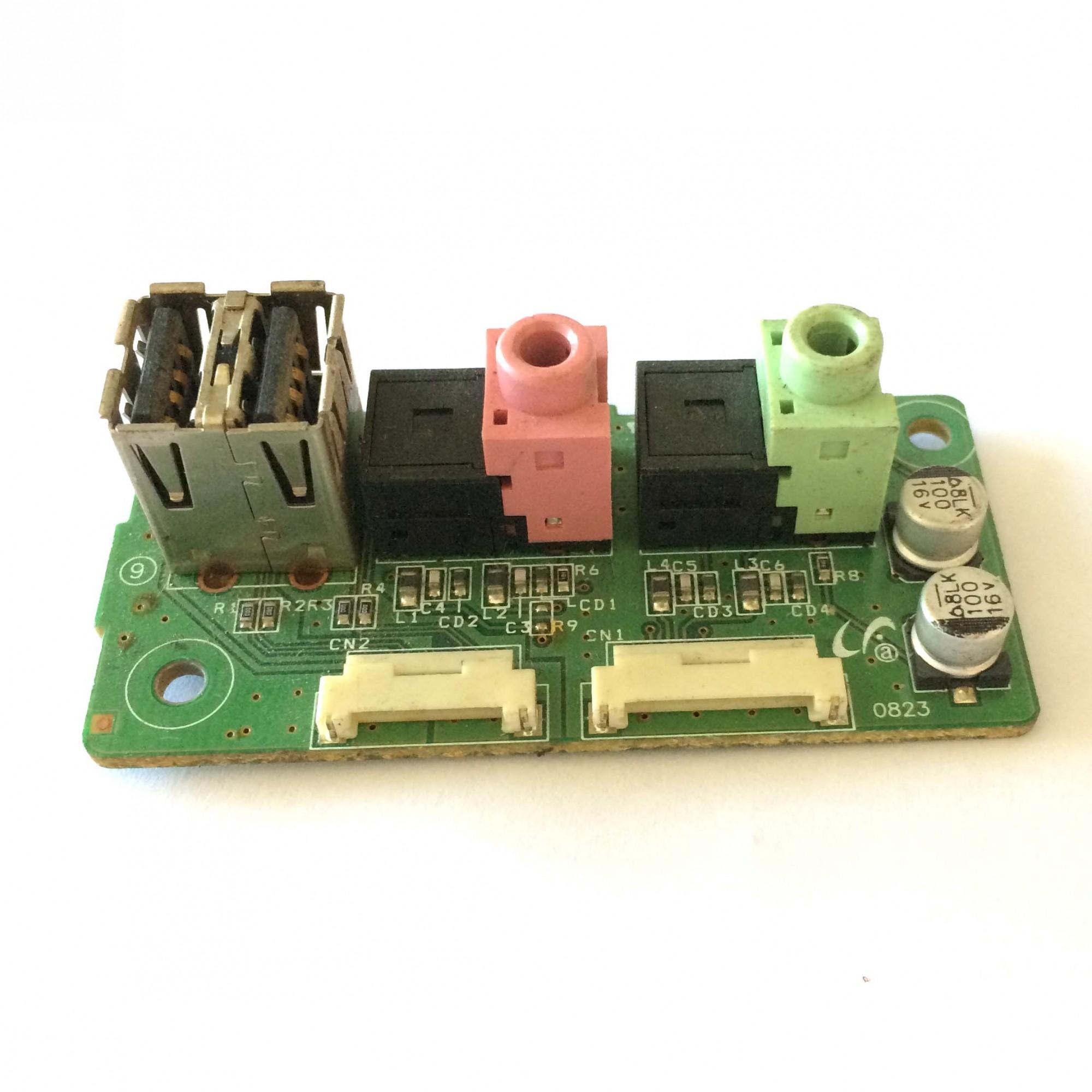 Placa Line Jack B/d Monitor Samsung Sincmaster 2063uw PN:BN41-00979A - Retirado