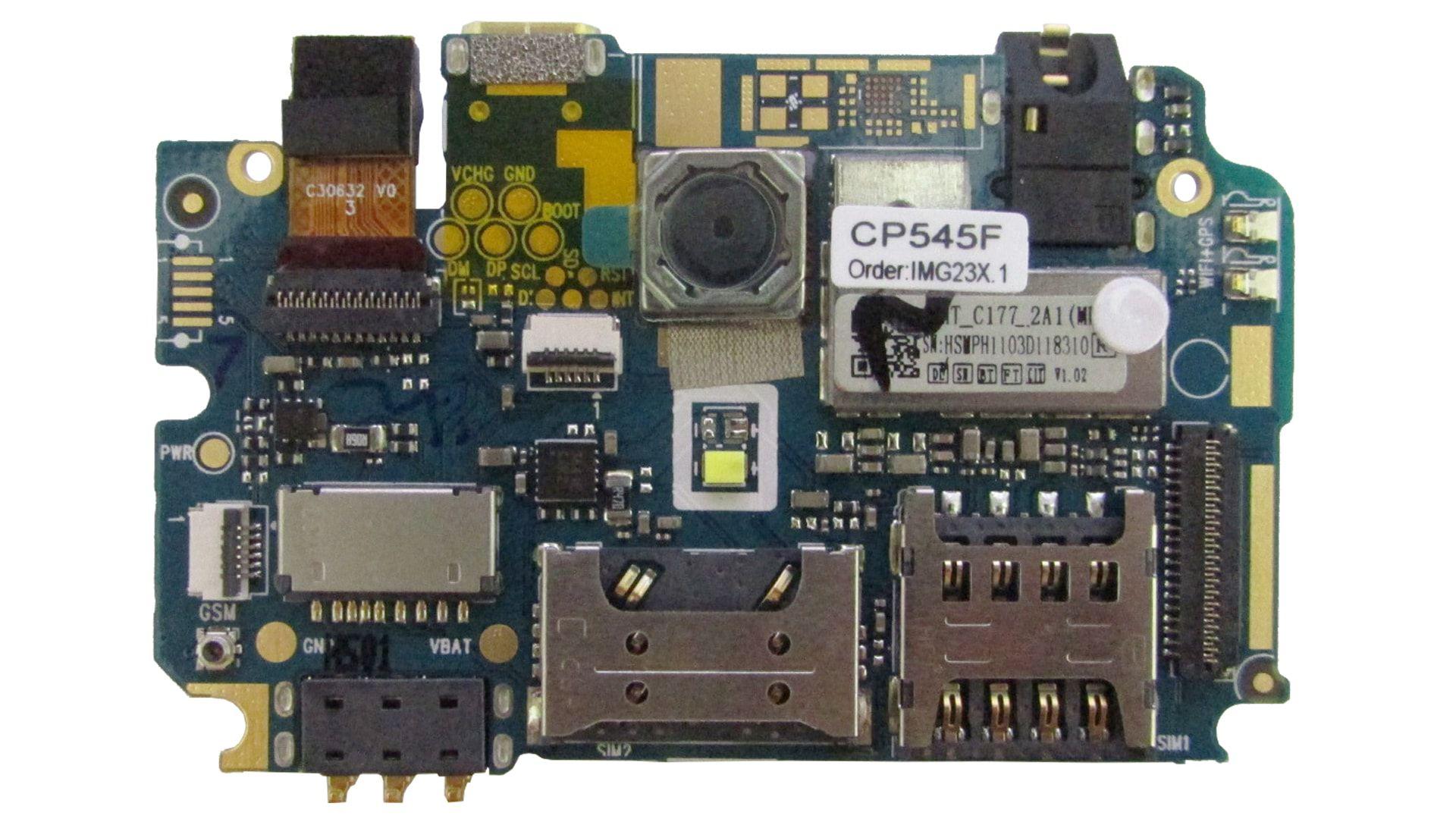 Placa Logica Celular Multilaser MS50S CP545F PR30025 Nova