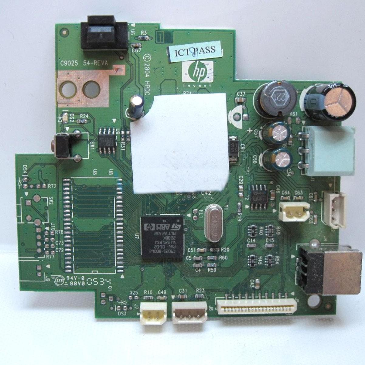 Placa Lógica Impressora Hp Deskjet 3920 Rev A PN: c9050-60024 - Retirado