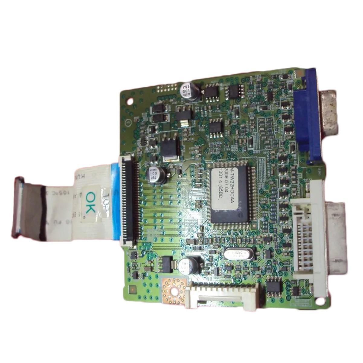 Placa Lógica Monitor Samsung T220 + Cabo Flat Da Tela  PN: Bn41-01029a - Retirado