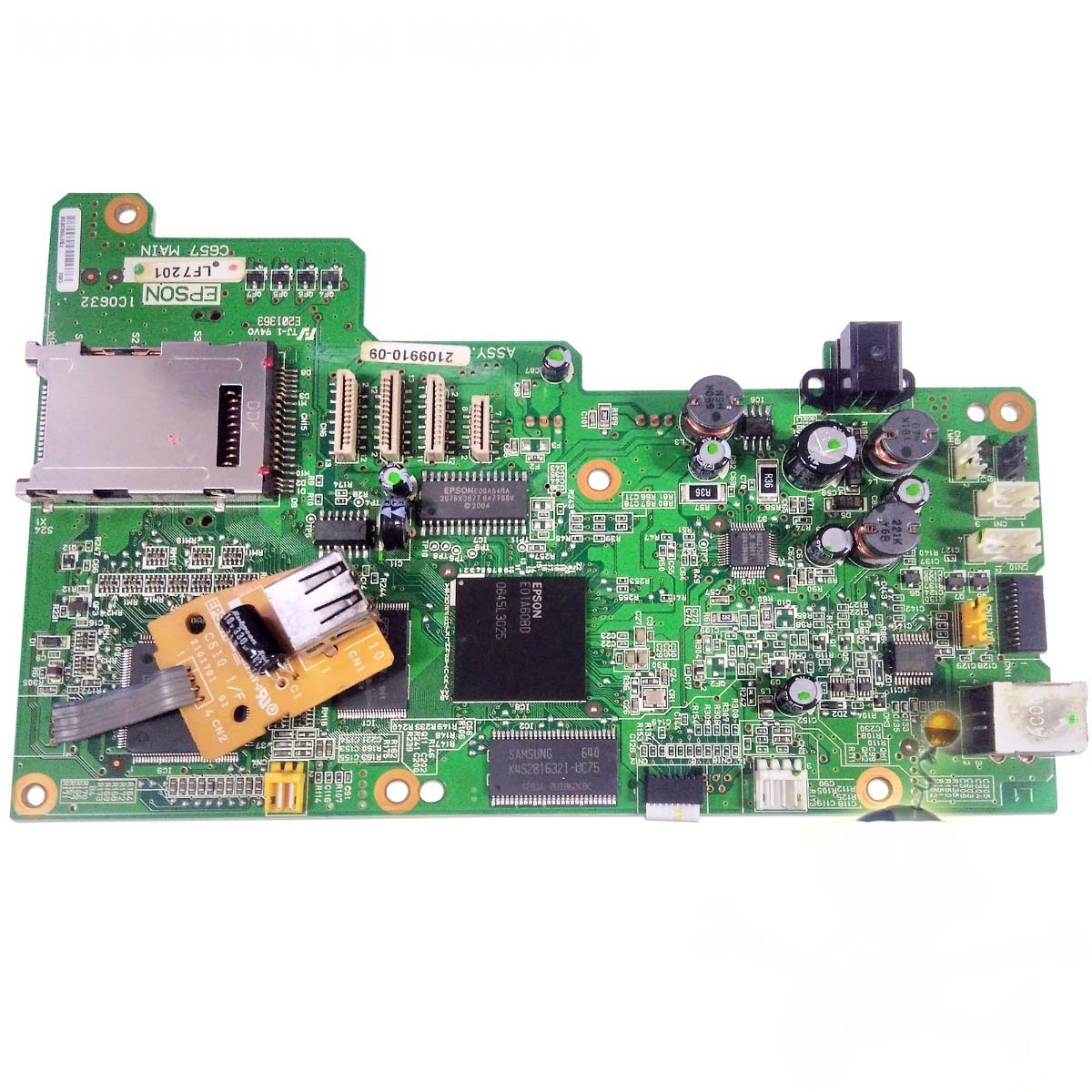 Placa Lógica Multifuncional Epson Stylus Cx4100 PN:e01a60bd - Retirado