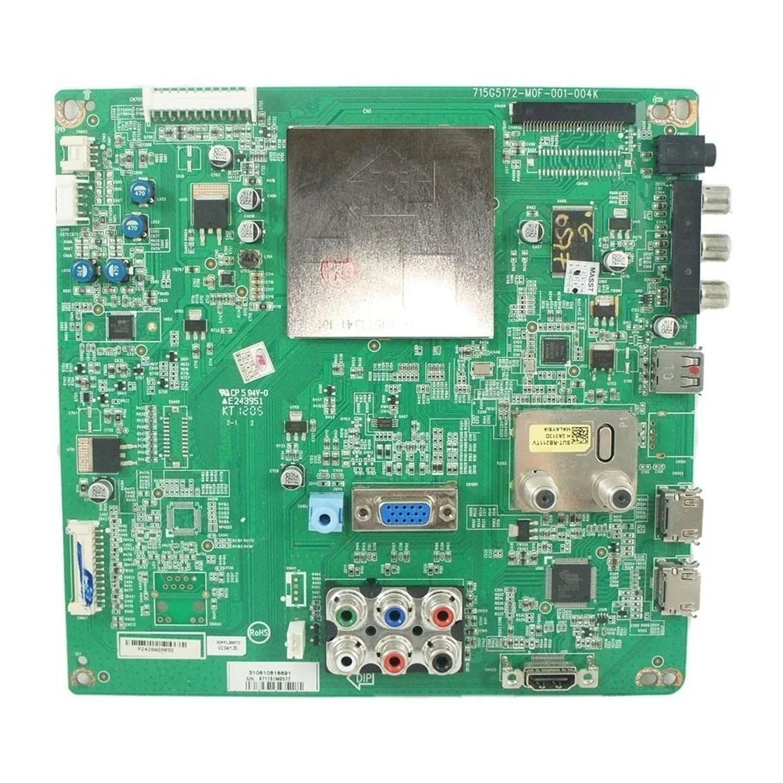 Placa Lógica TV Philips 32pfl3007g/78 PN: 715g5172-m01-001-004k - Retirado