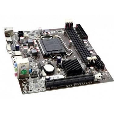 Placa Mãe Afox iH55-MA4 Chipset H55, Intel LGA 1156, mATX, DDR3 - iH55-MA4