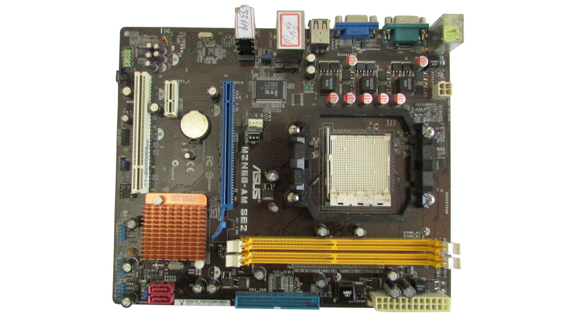 Placa Mãe Asus  M2N68-AM SE2 AM2 DDR2 Semi Nova C/ Espelho