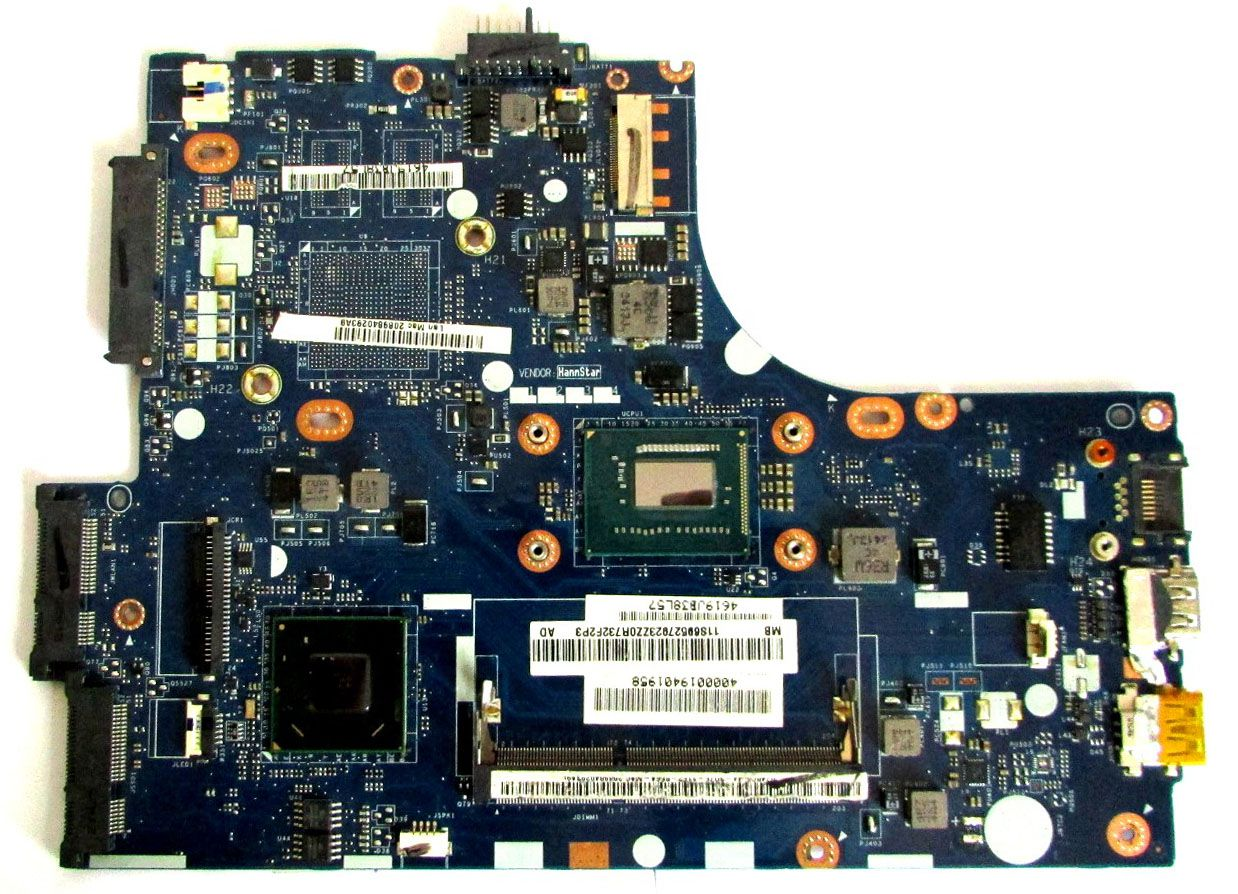 Placa Mãe Lenovo Vius3/vius4 La-8951p (Placa C/ DEfeito)