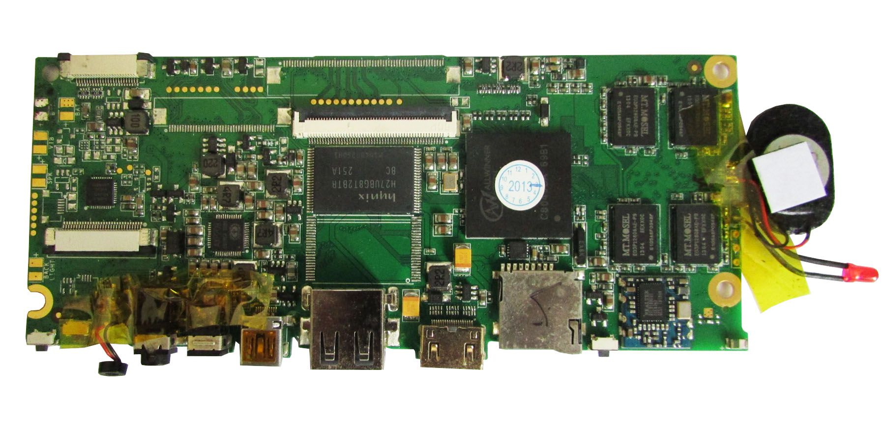 Placa Mãe Notebook Foston Fs-m797hd (semi novo)