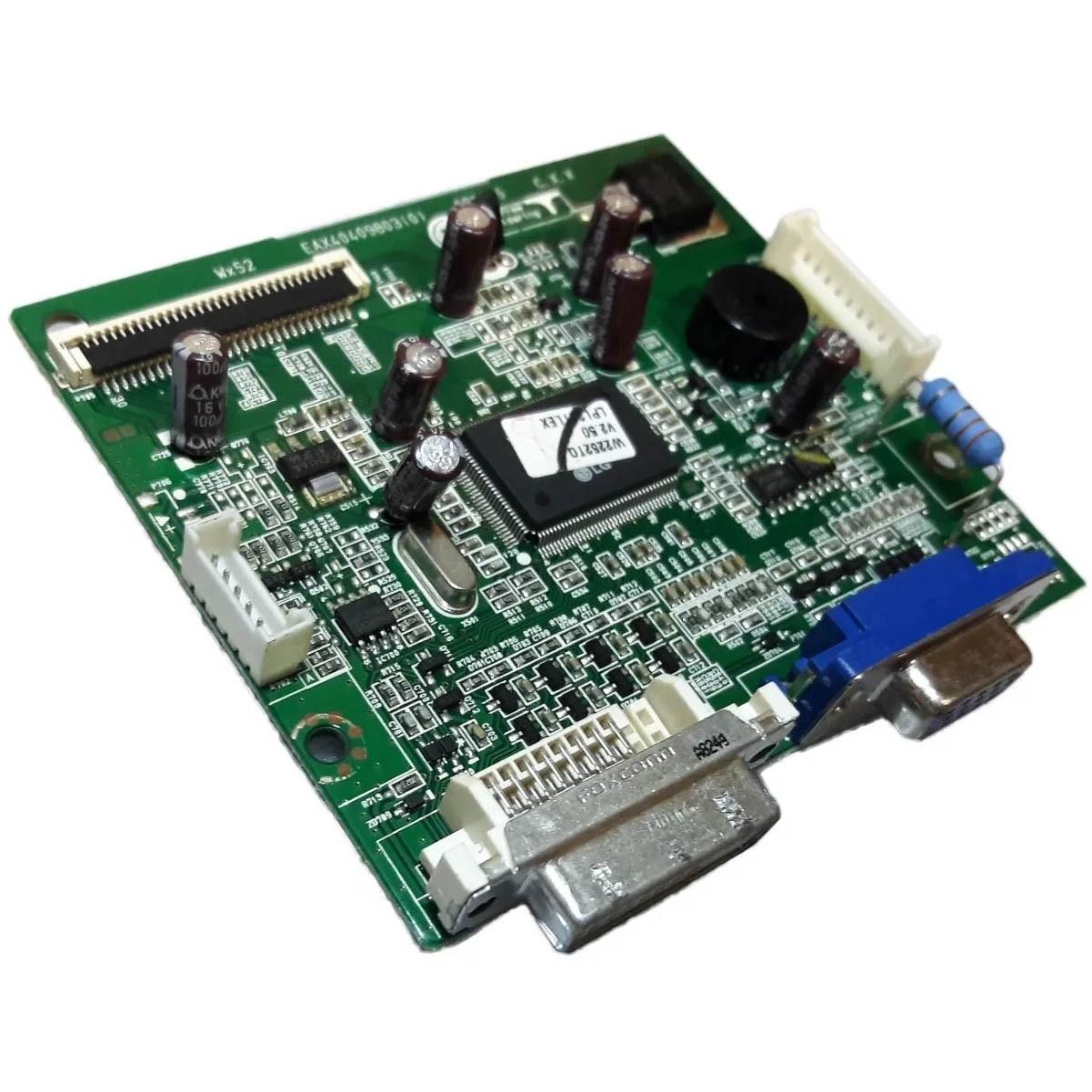 Placa Principal + Cabo Flat Monitor LG W2252tq-pf PN:Eax40409803 (0) - Retirado
