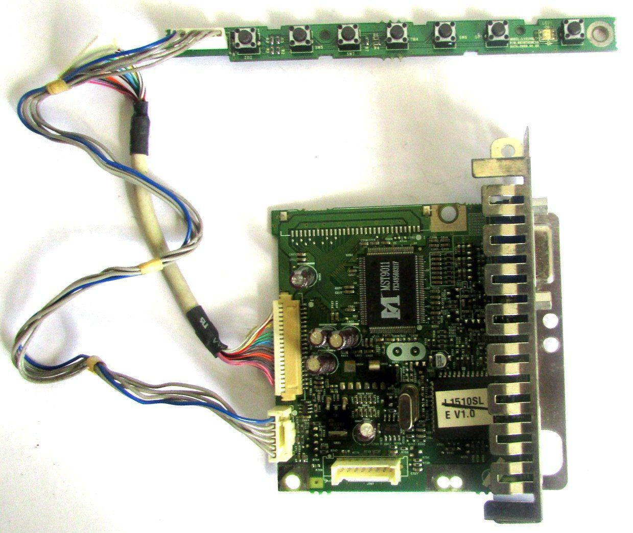 Placa Principal Logica Monitor Lg L1510sl L1511sl 1710sm (semi novo)