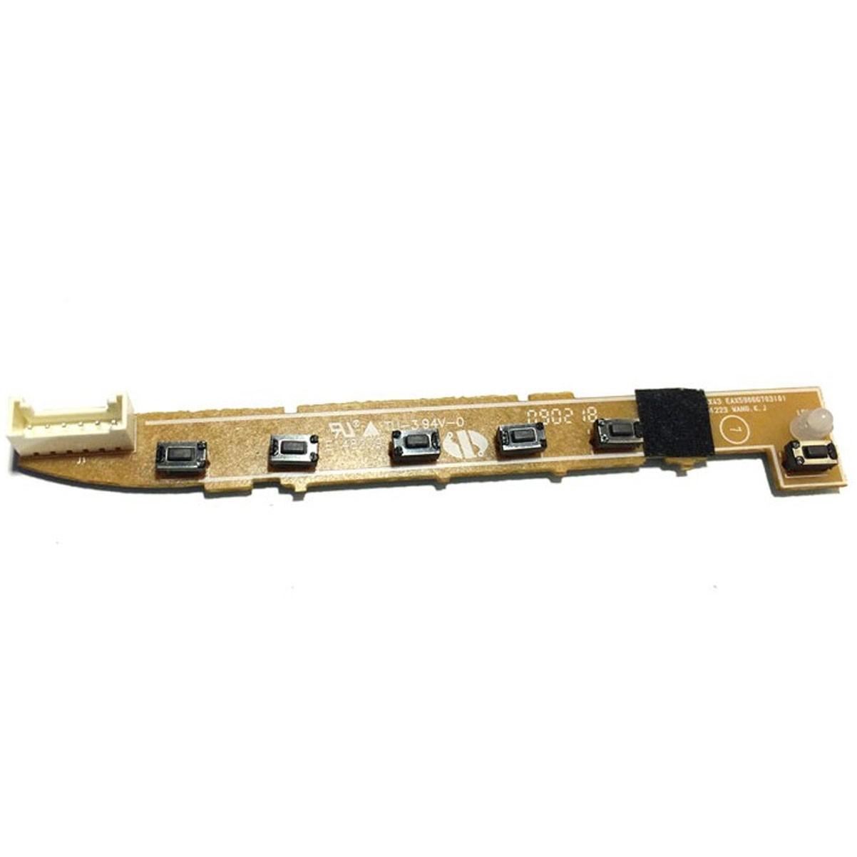 Placa Teclado Funções Monitor LG W1943c Wxx43c PN: Eax59066703 (0) - Retirado