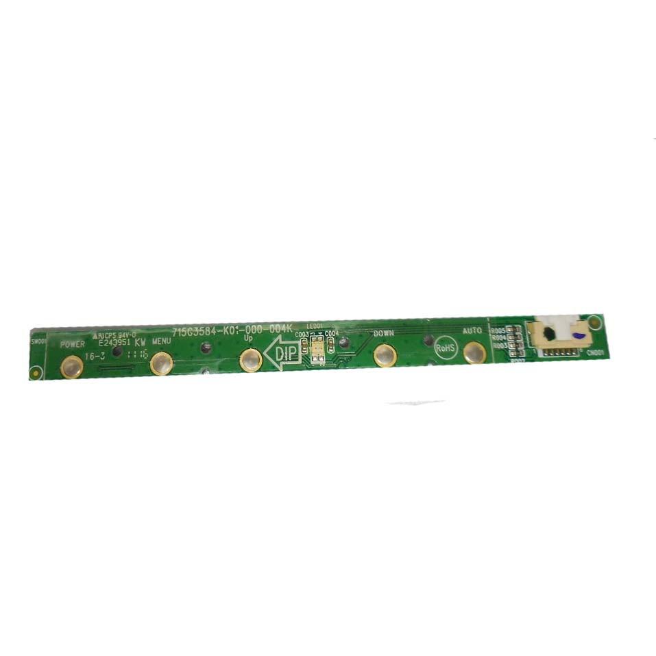 Placa Teclado Funções Monitor AOC e1621swb PN:715g3584-k01-000-004k - Retirado