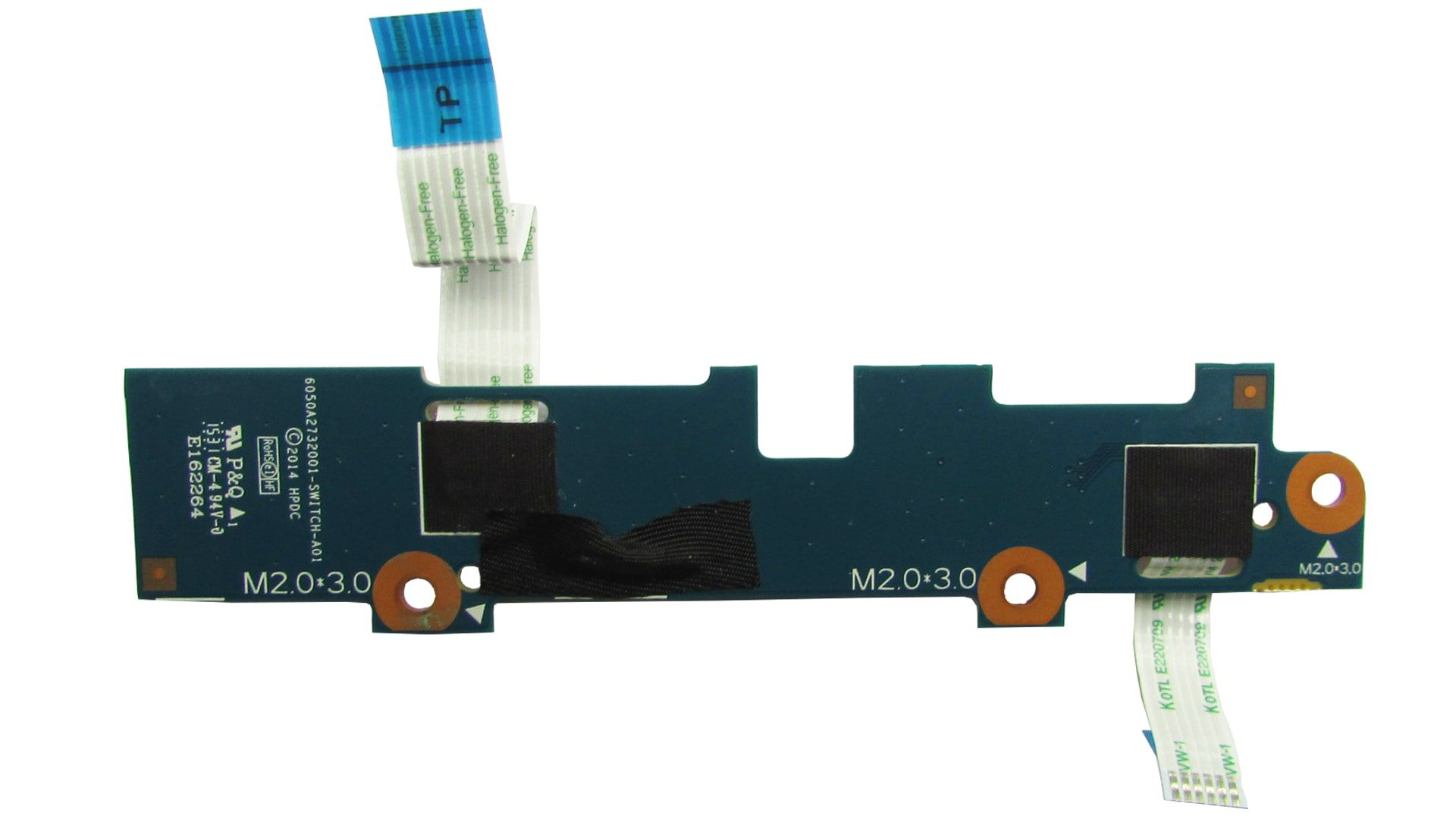 Placa Touchpad Notebook Hp 14-ac 14-an Series 6050a2732001 Retirada
