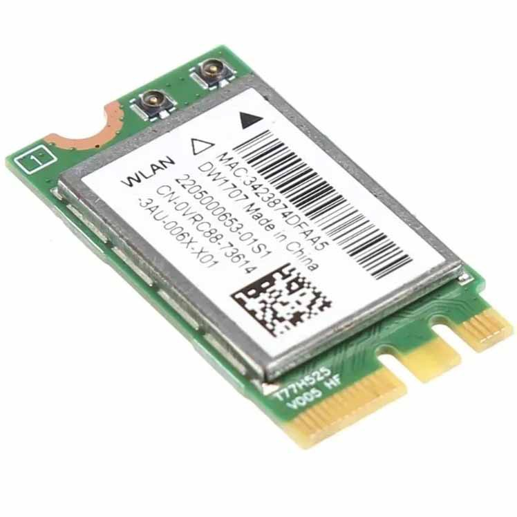 Placa Wifi Notebook Dell Wireles Dw1707 Wlan PN:Qcnfa335 - Retirado