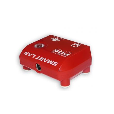 PoE Passivo com LED e Proteção contra Surto Smart Lan