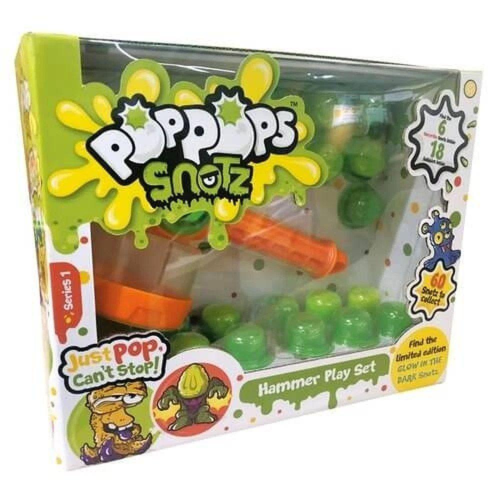 PopPops Slime Monster 18 Cápsulas + 6 Monstros Colecionáveis +3 Anos Multikids - BR1000