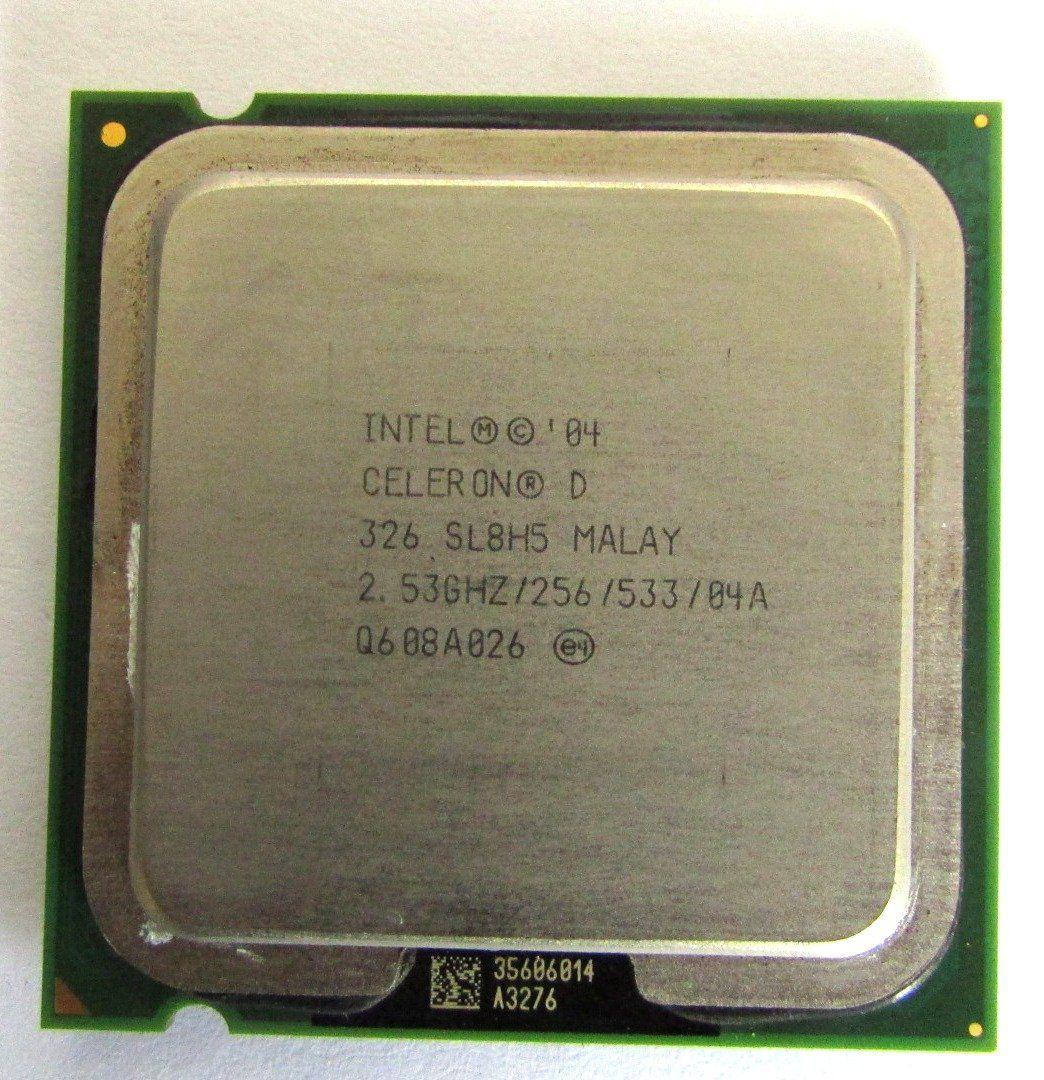 Processador 2.53ghz Intel Celeron D 326 Sl8h5 (semi novo)